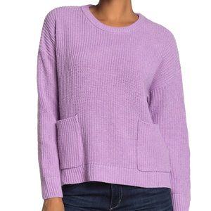 NWT Melloday purple sweater - S